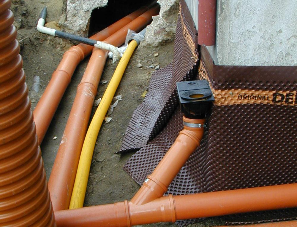 Kanalizační potrubí KG