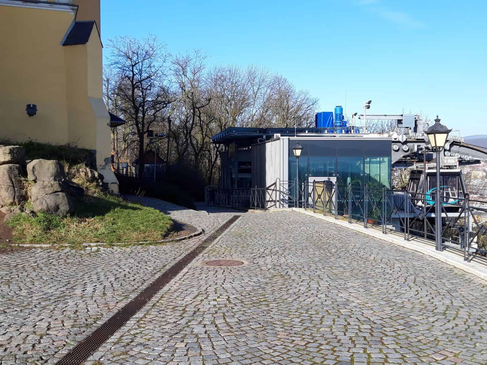 Žlaby Multiline - Větruše, Ústí n.L.